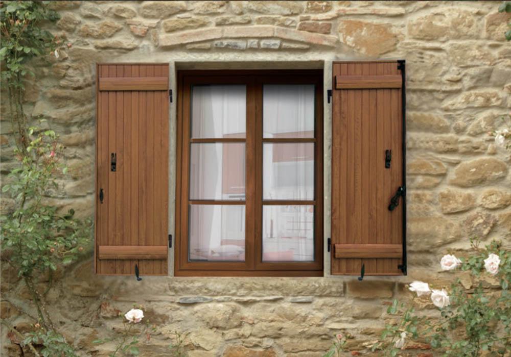 fenêtre AMBRE CLASSIQUE DESIGN DROIT