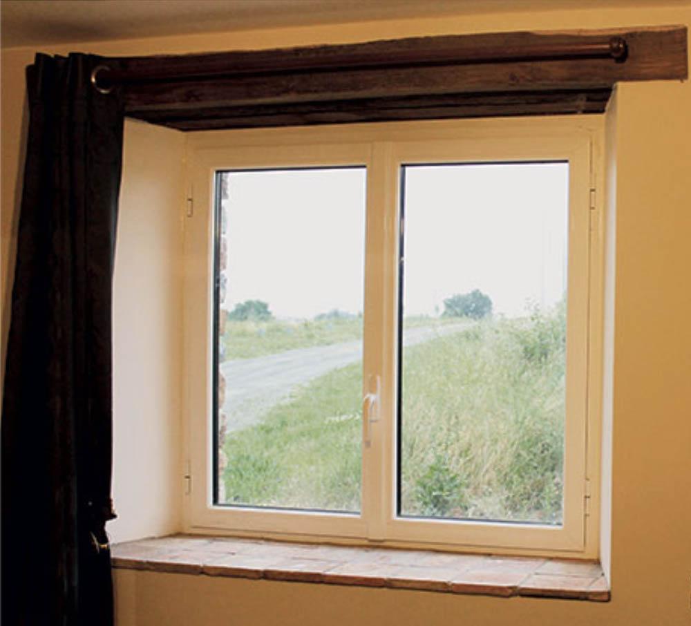 fenêtre AUTHENTIQUE OUVERTURE À LA FRANÇAISE À OUVRANT TRADITIONNEL
